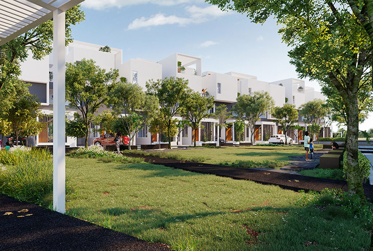 New Dawn Row Villas - Living in open spaces close to nature